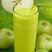 Apfel-Bananen Milchshake