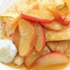 Apfel-Crêpes