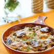Austernpilz-Kartoffel Gratin