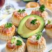 Avocados mit Thunfisch-Käsecreme
