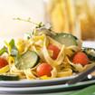 Bandnudeln mit Gemüsesoße