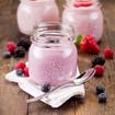 Beeren-Joghurt-Creme