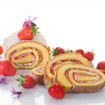 Bisquit-Rolle in Marzipan