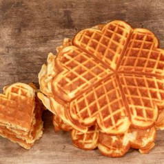Buttermilch-Waffeln