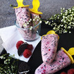 Cookies&Cream Raspberry Popsicles