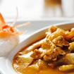 Curryhuhn mit Ananas