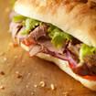 Englisches Roastbeef-Sandwich