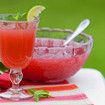 Erdbeer-Limetten Bowle