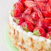 Erdbeer-Mandeltorte