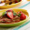 Erdbeer Pfannkuchen