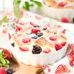 Erdbeer-Quark-Auflauf