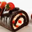Erdbeer-Schoko Roulade