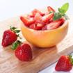 Erdbeersalat mit grünem Pfeffer