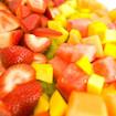 Erdbeersalat mit Mango