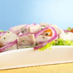Forellen-Apfel-Salat