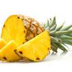 Gebackene Ananas mit Mandelsahne
