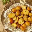 Gebackene Kartoffeln mit Minze und Knoblauch