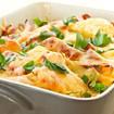 Gemüse mit Mozzarella überbacken