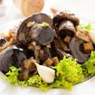 Geröstete Pilze mit Kräuterbutter