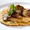Gorgonzola-Pfannkuchen