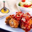 Hühnerschenkel mit Paprikaletscho
