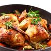 Hühnerschenkel mit Rosmarin