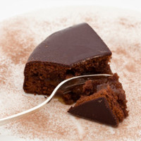 Schokoladen Marzipan Kuchen