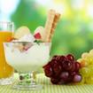 Joghurtcreme mit Früchten