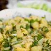 Kartoffel-Brunnenkresse-Salat