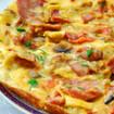 Kartoffel-Omeletts mit Speck