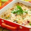 Kartoffelgratin mit Sauce Hollandaise