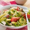 Kartoffelsalat mit Tomaten und Joghurt