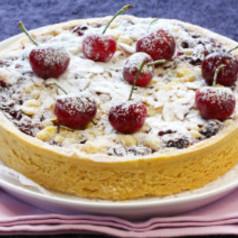 Kirsch Mandelkuchen Kuchen Torten Kochgourmet