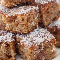 Kokos-Haselnuss Brownies