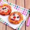 Lustige Mini Pizzen