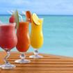 Melonen-Orangen Cocktail