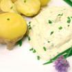 Pellkartoffeln mit Gemüsequark