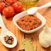 Pesto mit Tomaten und Knoblauch