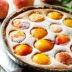 Pfirsich-Kuchen