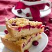 Preiselbeer-Birnen-Kuchen