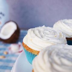 Raffaello Malibu Cupcakes