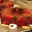 Rhabarber-Erdbeer-Grütze
