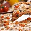 Salami-Champignon-Pizza