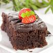 Schoko-Erdbeer Brownies