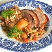 Schweinebraten vom Ländle Alpschwein mit Deggendorfer Knödelgratin
