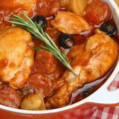 Spanischer Hühnertopf