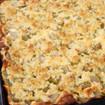 Streusel-Käsekuchen mit Rhabarber