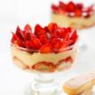 Tiramisu mit Erdbeeren und Grand Manier
