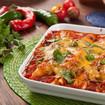 Überbackene Enchiladas