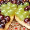 Weintrauben-Kuchen